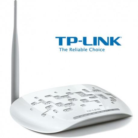 MODEM ROUTER TP-LINK TD-W8951ND ADSL 2+ WIFI ACCESS POINT LAN 150Mbps
