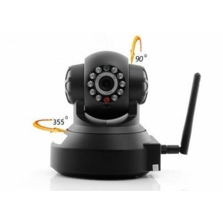 TELECAMERA IP CAMERA CAM WIFI P2P REGISTRA MICRO SD DVR 11 LED LAN RJ45 REC
