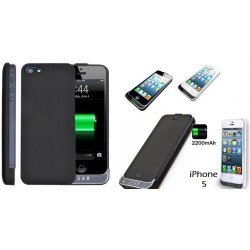 Coverbatteria per Iphone 5/5s ultrasottile 2200Mah (1 carica completa)