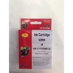 Cartuccia Compatibile Brother  980 / 1100 XL Black nera AB-L1100BK REMAN